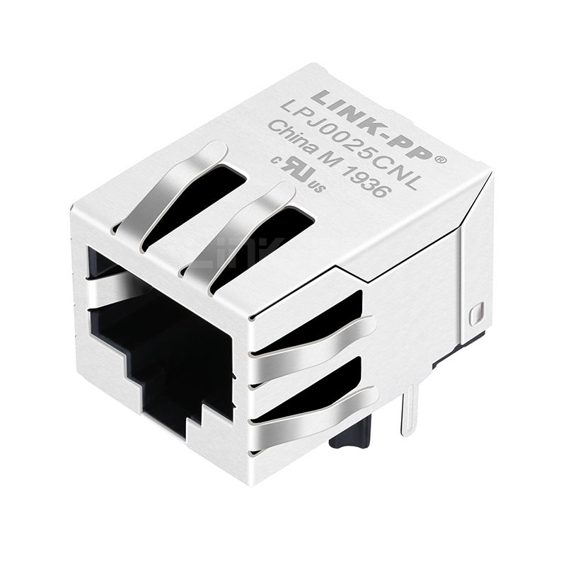 RB1-105B1A1F Compatible LINK-PP LPJ0025CNL 10/100 Base-T Tab Down Without Led Single Port Industrial RJ-45 Network Connector