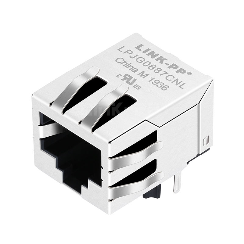 RB1-105B8G6A Compatible LINK-PP LPJG0887CNL 100/1000 Base-T Tab Down Without Led One Port RJ-45 Networking
