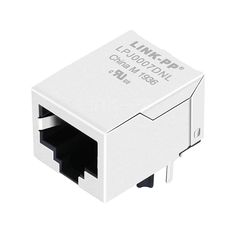 LJ-N17S1A-YE-F Compatible LINK-PP LPJ0007DNL 10/100 Base-T Tab Down Without Led One Port 8P8C Magjack ICM RJ45