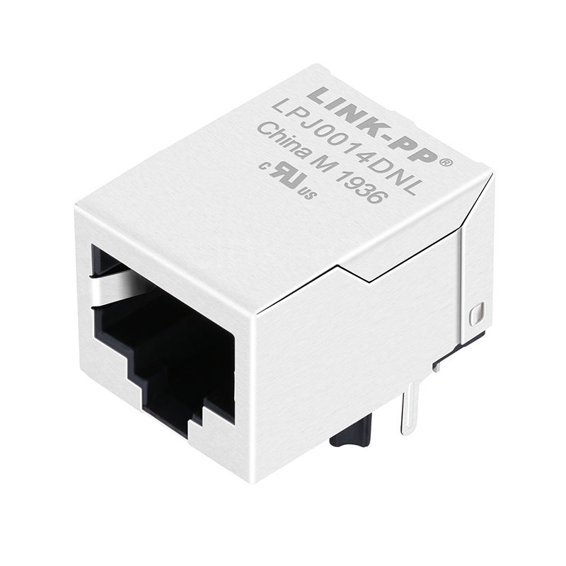 Bothhand KLU1S041C LF Compatible LINK-PP LPJ0014DNL 10/100 Base-T Tab Down Without Led 1 Port Magnetic RJ 45 Connector Price
