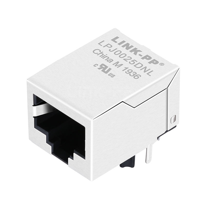 RD1-106B1A1A Compatible LINK-PP LPJ0025DNL 10/100 Base-T Tab Down Without Led 1 Port Network RJ-45 Magjack
