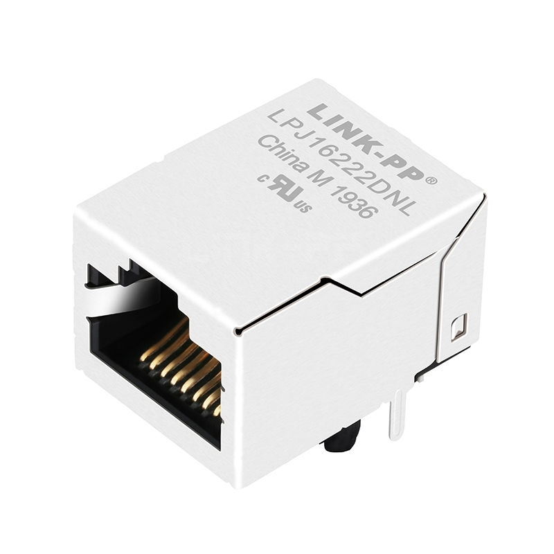 RTH-103AAH3A Compatible LINK-PP LPJ16222DNL 10/100 Base-T Tab Up Without Led Single Port 8P8C Jack RJ 45 Network Connection